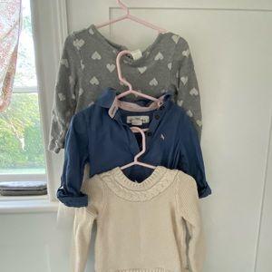 💕 Girls Casual Dress Bundle (3) Dresses 💕